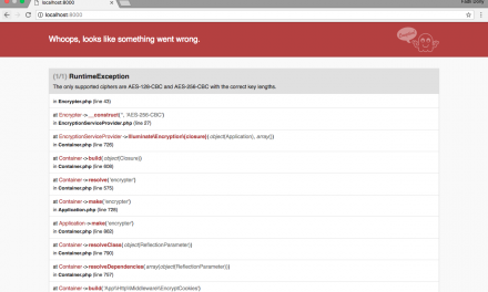 Cara Mengatasi Error The only supported ciphers Laravel